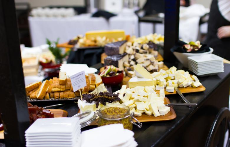 HostCo Catering - Dessert Cheese Station