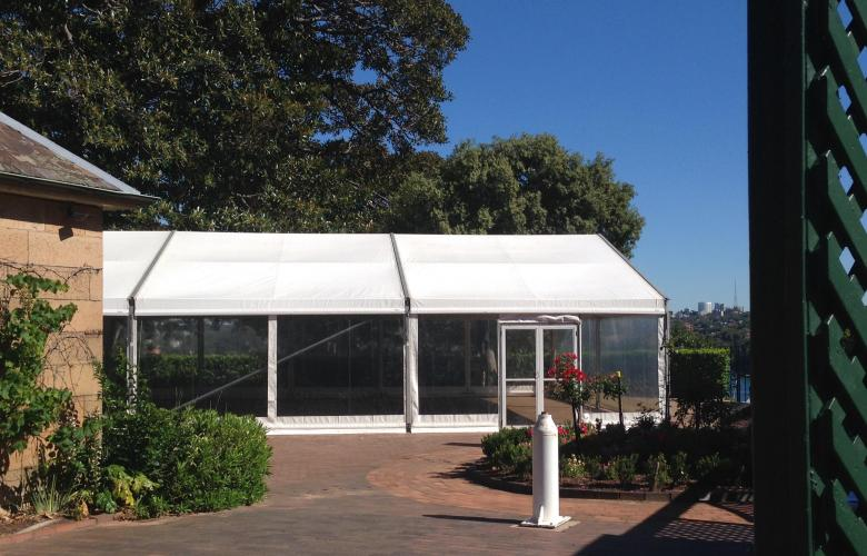Sydney Observatory Marquee - Courtyard