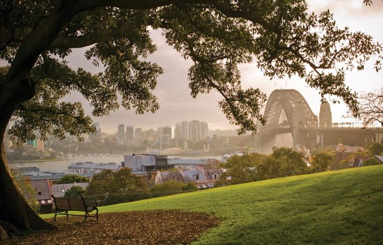 Views from Sydney Observatory Marquee